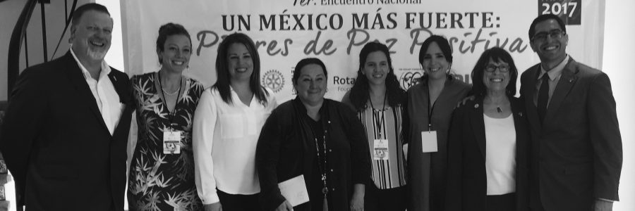 Monitoring and Evaluation for Rotary International and the Institute for Economics and Peace (Puebla, México)